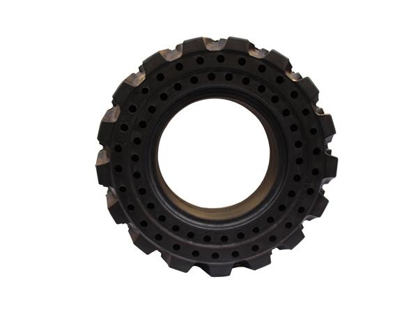 实心橡胶轮胎的针对性解决措施