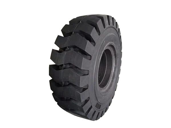 实心橡胶轮胎的损害处理方法