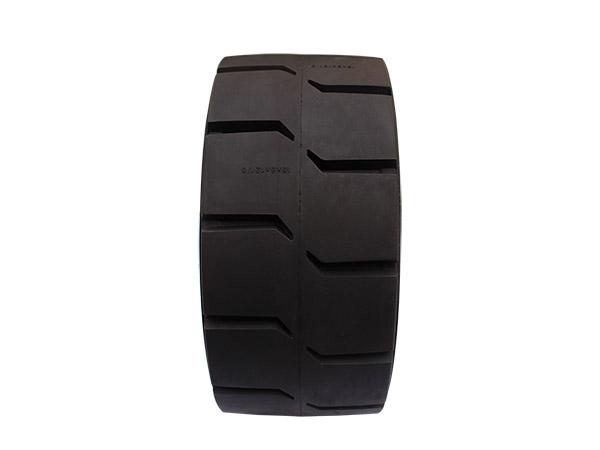 拖车压配式实心轮胎