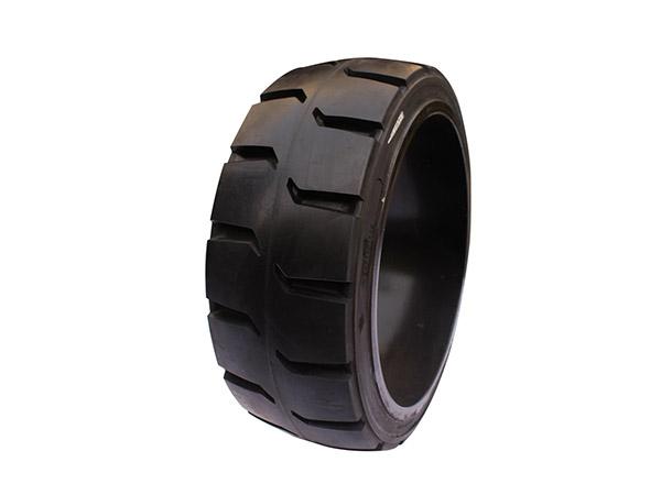 TR花纹压实心轮胎